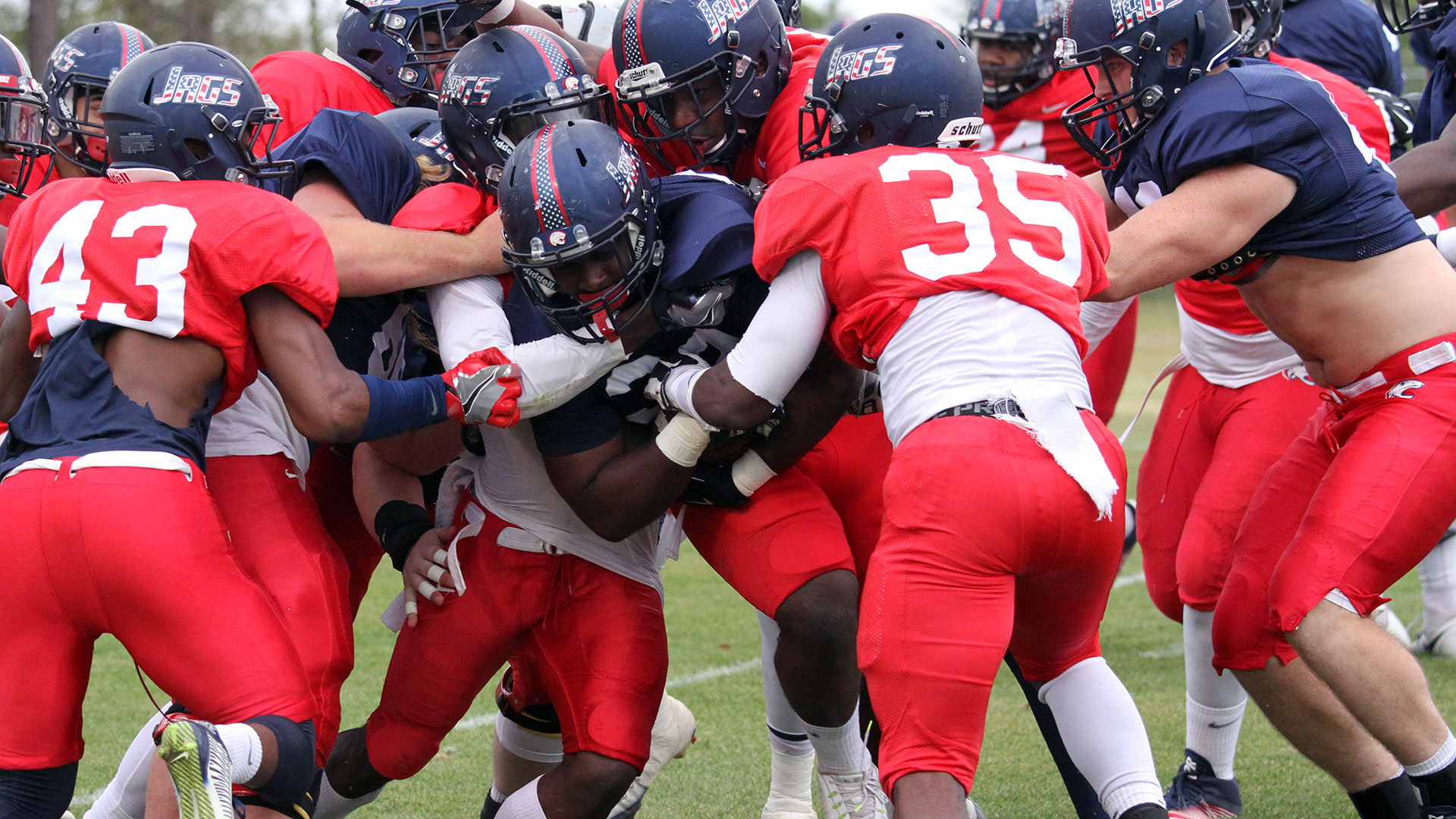 The official website of the south alabama jaguars university of south alabama football spring scrimmage report 324 sciox Image collections