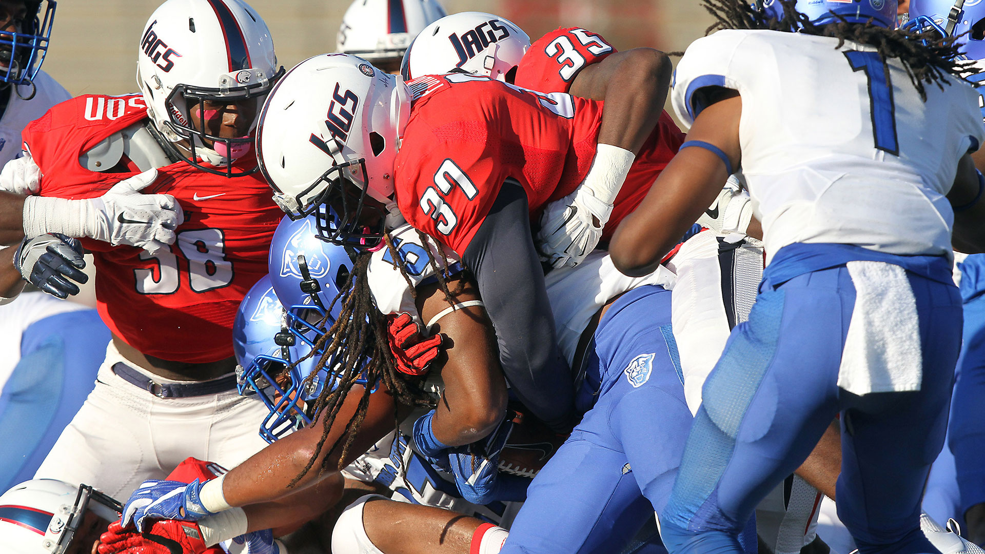 Television information and updated game times for five jag television information and updated game times for five jag football games announced university of south alabama sciox Gallery