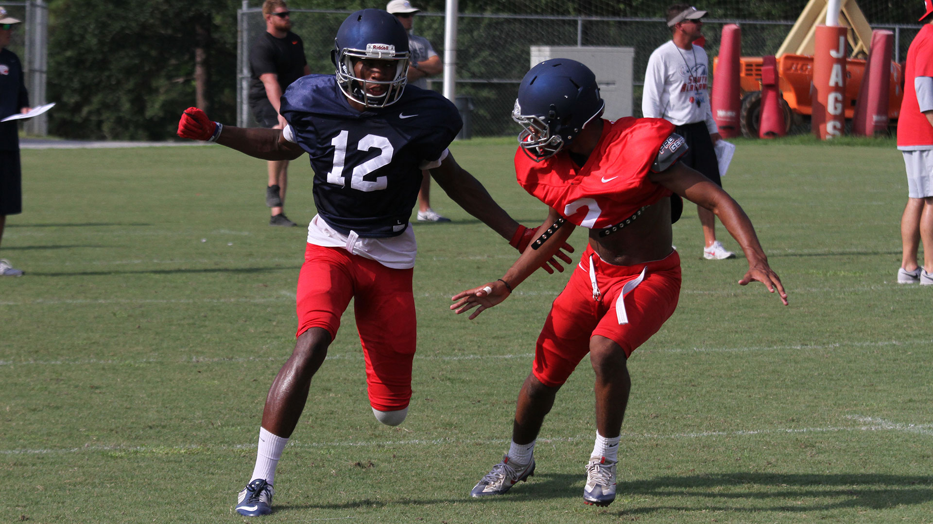 The official website of the south alabama jaguars university of south alabama football practice report 824 sciox Image collections
